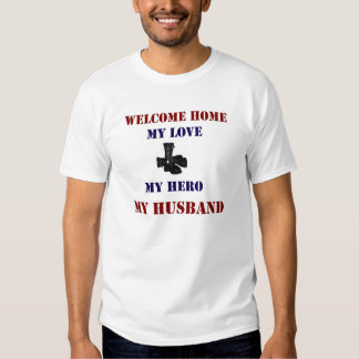Welcome Home Boots T Shirt