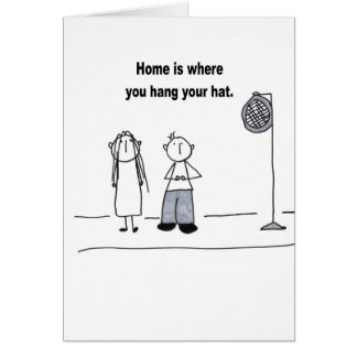 Welcome Home! Greeting Card