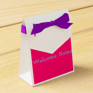 Welcome home favor box (For Her) Wedding Favour Box