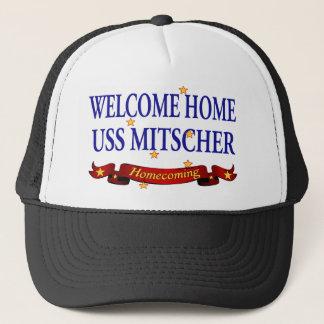 Welcome Home USS Mitscher Trucker Hat
