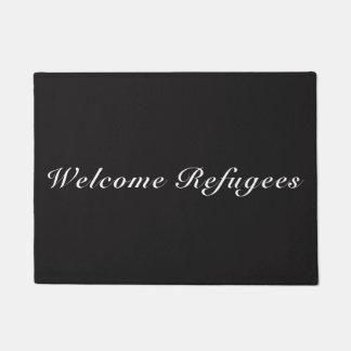 welcome refugees doormat