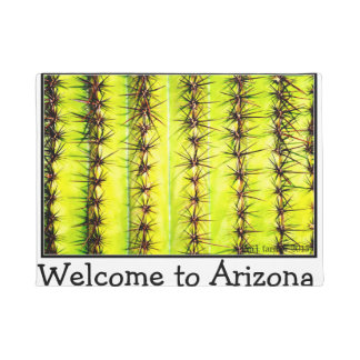 Welcome To Arizona Saguaro Door Mat