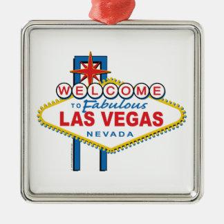 Welcome to Fabulous Las Vegas Christmas Ornament