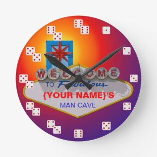 Welcome to Fabulous Vegas style dice numbers clock