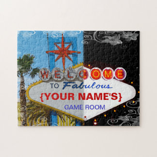 Welcome to Fabulous Your Game Room! Jigsaw Puzzle