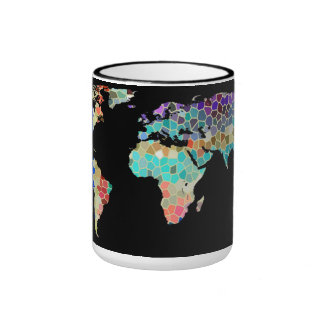 Welcome to my Colorful World Ringer Mug