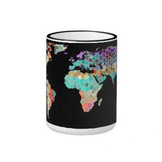 Welcome to my Colorful World Ringer Coffee Mug