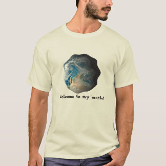 Welcome to my world 2 t-shirt