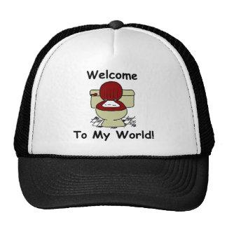 Welcome To My World Trucker Hat