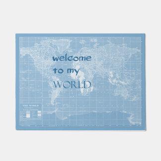 Welcome to my World Doormat