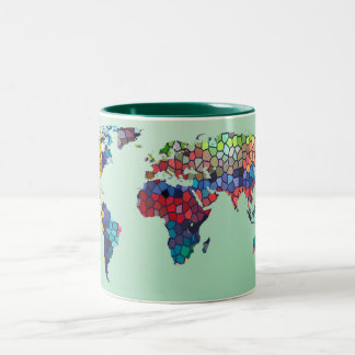 Welcome to My World Green Mug