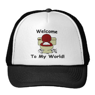 Welcome To My World Mesh Hat