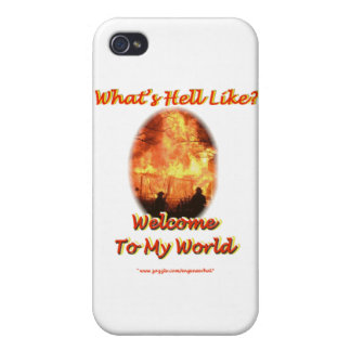 Welcome to my World iPhone 4/4S Cases