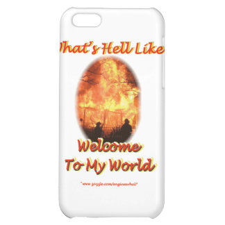 Welcome to my World Cover For iPhone 5C