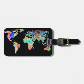 Welcome to My World Luggage Finder Tag
