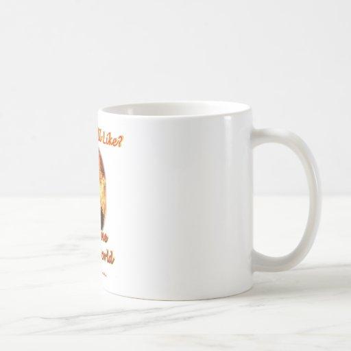 Welcome to my World Coffee Mugs