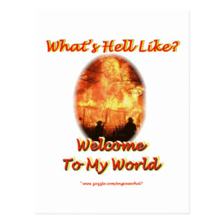 Welcome to my World Postcard