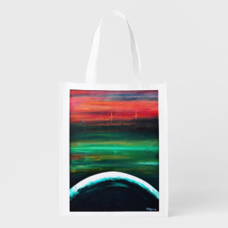 Welcome to My World Reusable Bag Market Tote