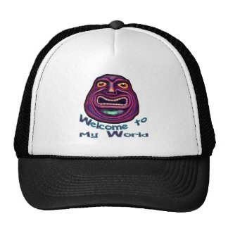 Welcome To My World Shirt Hats