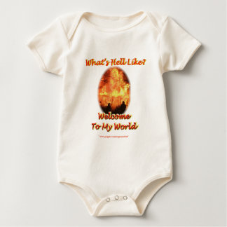 Welcome to my World Baby Bodysuit