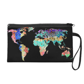 Welcome to my World Wristlet