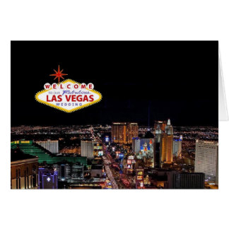 Welcome to Our Fabulous Las Vegas Wedding Invitati Card