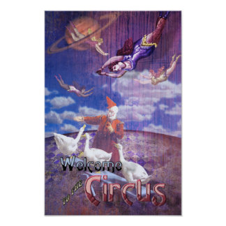Welcome to the Circus Poster