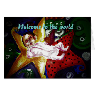 Welcome to the world! card