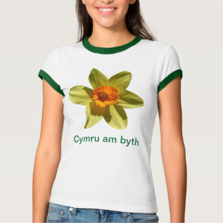 Welcome to Wales, in Welsh T-Shirt