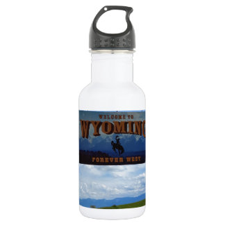 Welcome to Wyoming 532 Ml Water Bottle