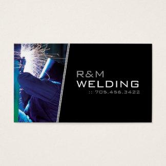 Custom Welding Business Cards