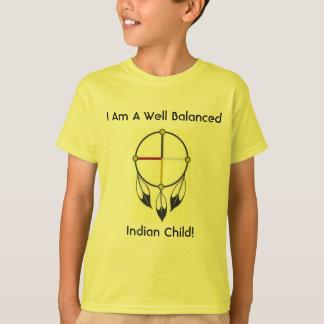 Well Balanced Indian Child Tshirt