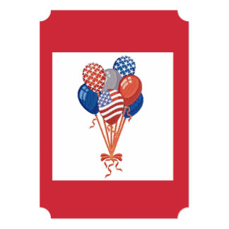 We'll Celebrate July 4th Party Invitation