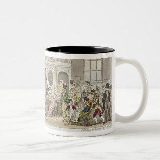 Well known Characters in the Pump Room, Bath, Taki Two-Tone Coffee Mug