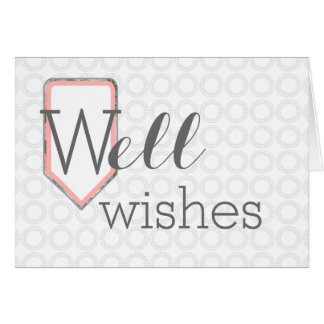 Well Wishes | Get Well Soon | Personal Stationary Card