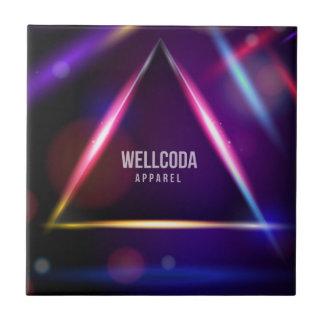 Wellcoda Apparel Solar System Crazy World Tile
