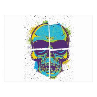 Wellcoda Epic Party DJ Skull Dead Summer Postcard