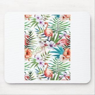 Wellcoda Flamingo Bird Habitat Animal Fun Mouse Pad