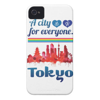 Wellcoda Friendly Tokyo City Japan Urban iPhone 4 Cover