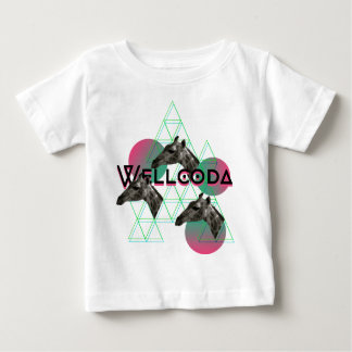 Wellcoda Giraffe Africa Animal Safari Fun Baby T-Shirt