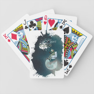 Wellcoda Space Universe Frog Earth Animal Bicycle Playing Cards