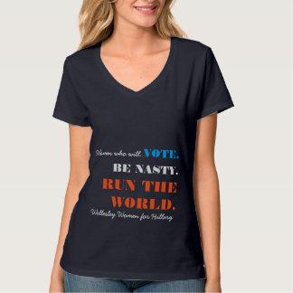 Wellesley Women for Hillary T-Shirt