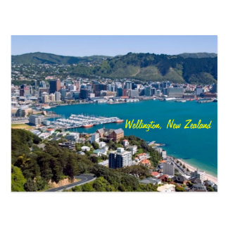 Wellington New Zealand Postcard