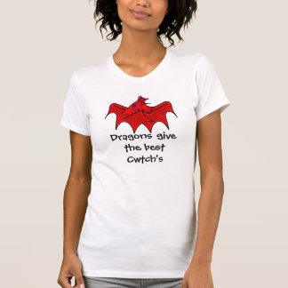 Welsh dragons give the best cwtchs T-Shirt