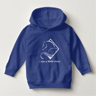Welsh Pony Toddler Hooded Sweatshirt