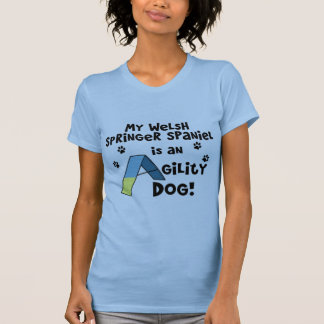 Welsh Springer Spaniel Agility Dog Tank Top