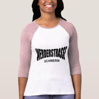 WERDER ROUTE - Schwerin T Shirts