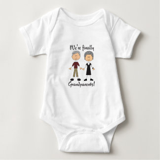 We're Finally Grandparents! Baby Bodysuit
