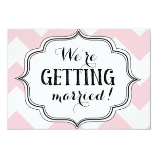 We're Getting Married! Card