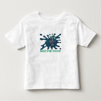 WereSlug Messy Little Monster Toddler T-Shirt